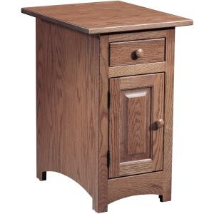 Shaker 1 Door Chairside Table