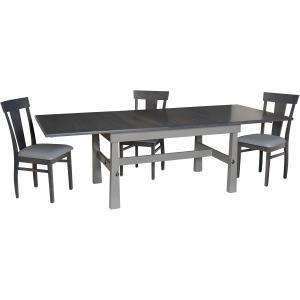 Craftsmen Dinign Table w/ 3-12