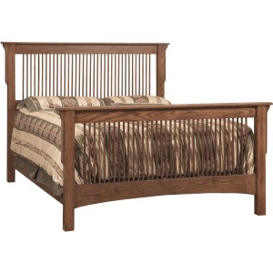 Mission Queen Size Bed