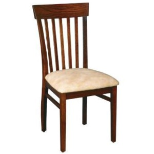 Venice Side Chair w/Upholstered Seat
