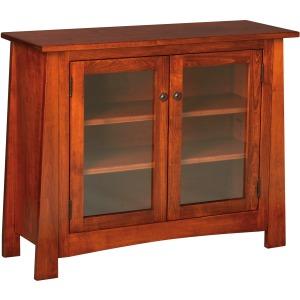 Craftsmen Console w/ Glass Doors