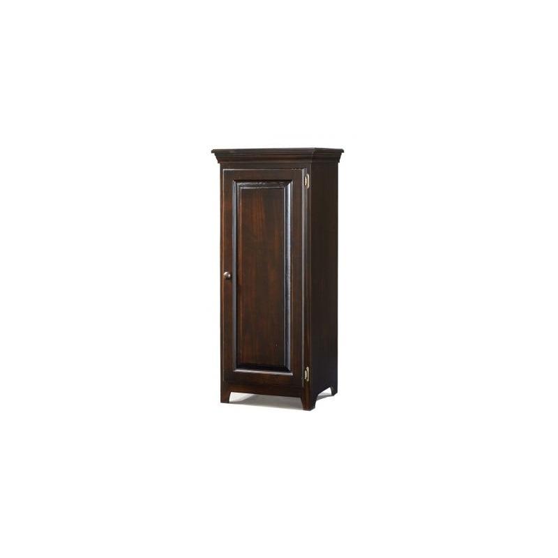 Shaker 1 Door Jelly Cabinet w/ two Adj. Shelves