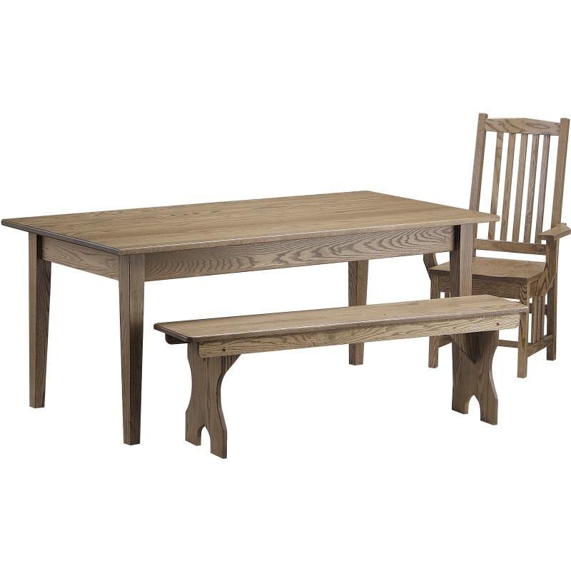 Shaker 6 Ft. Farm Table