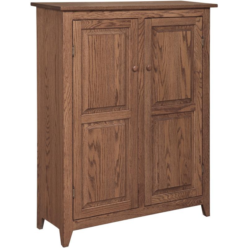 Shaker 2 Door Jelly Cabinet w/ two Adj. Shelves