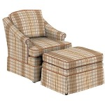 Chair and 44 Ottoman