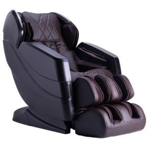 CZ-357 Massage Chair - Espresso & Black