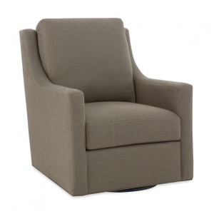Heath Swivel Glider - Loose Pillow Back