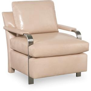 Elle Chair w/Nickel Arms