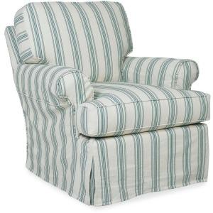 Kiran Slipcover Swivel Chair