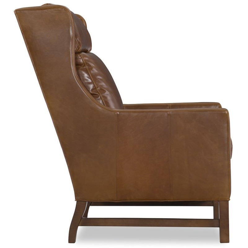 Brilliant Wyatt Leather Chair Machost Co Dining Chair Design Ideas Machostcouk
