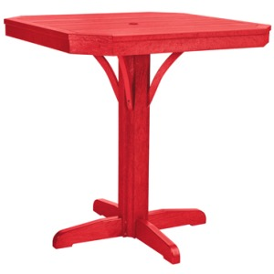 """35"""" Square Counter Table"""