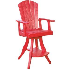 Swivel Arm Pub Chair