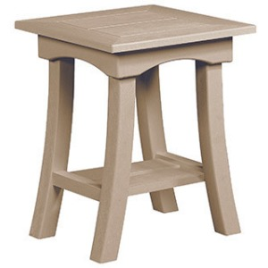 "Bay Breeze Coastal 19"" End Table"