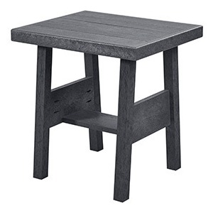 "19"" End Table - Slate Grey"