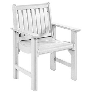 Dining Arm Chair - White