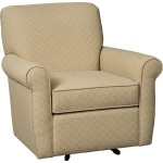 Farmhouse Swivel Glider Chair
