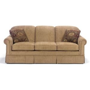 Three Cushion Queen Sleeper Sofa
