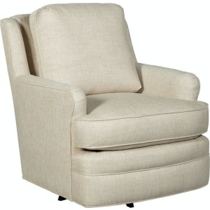 Swivel Chair w/Blended Down Cushion