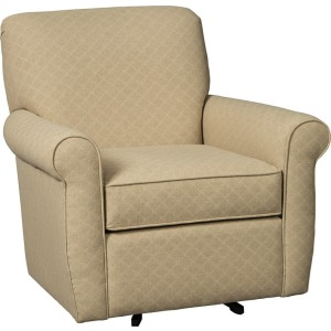 Farmhouse Swivel Glider Chair