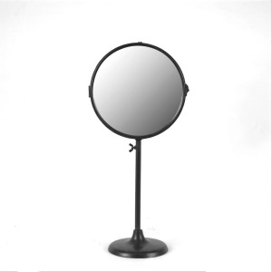 Metal 2-Sided Mirror On Stand