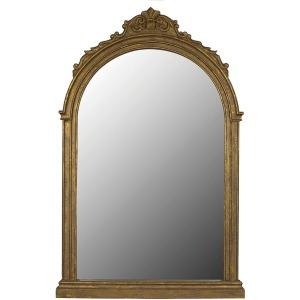 MDF Framed Mirror Gold Finish
