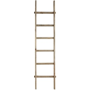 Decorative Wood Ladder Natural