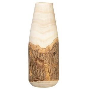 Paulownia Wood Vase w/ Live Edge