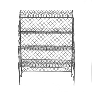 Wire 4-Tier Shelf