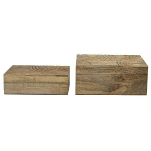 Hand Carved Mango Wood Boxes