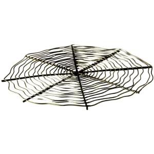 Decorative Metal Charger Galvanized Zinc Finish
