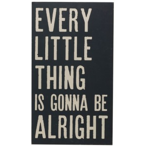 """Wood Wall Decor """"Every Little Thing?"""""""