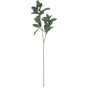 "28""H Faux Lemon Leaf Branch"