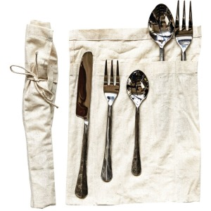 """9-1/4"""" - Hand-Forged Stainless Steel Flatware Place-Setting Distressed Silver Finish Set of 5"""