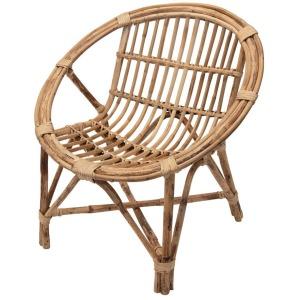 Hand Woven Rattan Chair - Natural