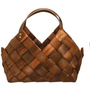Seagrass Basket w/ Leather Handle - Medium