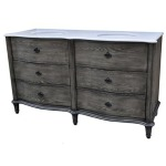 Grayson Curved 4 Drawer 60