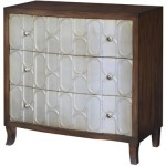 Park Aveue Antique Gold And Wood Chest