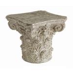 Athena Cast Greek Capital Accent Table
