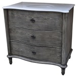 Grayson Curved 2 Drawer 36