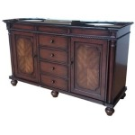 Charleston 2 Door / 4 Drawer Traditional 60