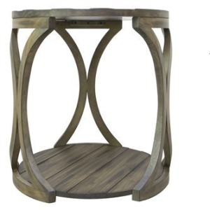 Hawthorne Estate Textured Round End Table