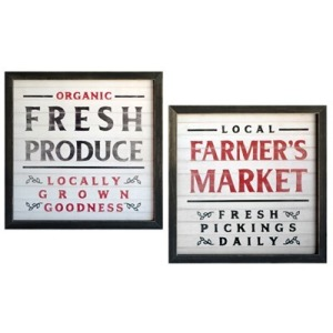 Framed Art Set Of 2