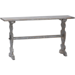 Bengal Manor Carved Leg Console Table