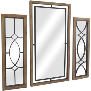 Hawthorne Wall Mirror - Set of 3