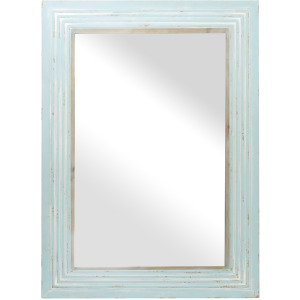 Pale Reflection Wall Mirror