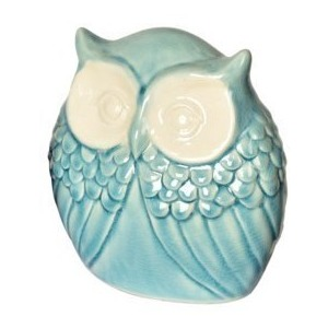 Vintage Owl Statue -  Small