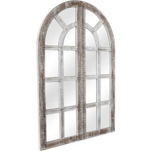 Tiby Wood Mirror