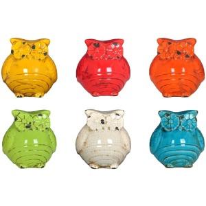 Ceramic Owls