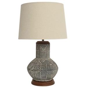 Monterey Tribal Motif Table lamp