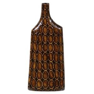 """7.5"""" X 2.8"""" X 19.3""""h Ceramic Vase"""